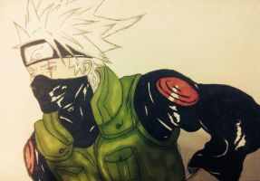 Kakashi by The-Banshee-Queen