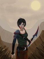 Hurtled into Chaos: Misery Hawke by Seika-H