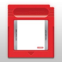 Gameboy Cartridge Template by cow41087