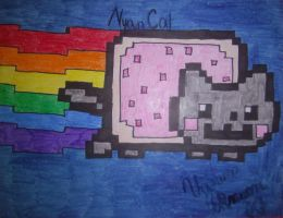 NYAN CAT by InvaderVanessa2