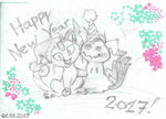 New Year with Pokemons. by Un-Gato
