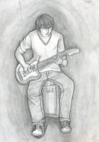 Figure drawing: Guitar by TheMuffalow