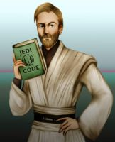 Old fart Obi-Wan by Hed-ush