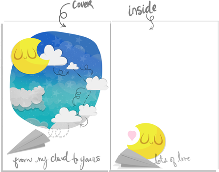 From my cloud to yours card idea by SuzyQ2pie