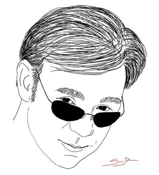 Horatio Caine Digital Ink by justfroeja