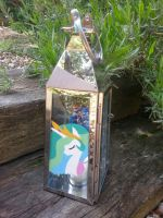 My little pony candle holder Celestia and Luna by LightningChaser