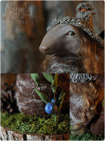 Jorma the Nordic Forest Troll - Details by Nymla