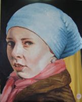 after vermeer by m2mazzara