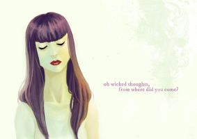 oh wicked thoughts by Pojypojy