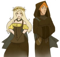 a wench and a friar walk into a bar by sasshoundsmerdle