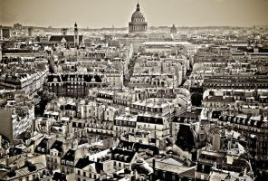 Paris from the top by Nile-Paparazzi
