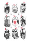 Winter Owls by Ripplen