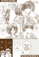 How their first kiss happened by PkYupe