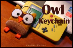 Owl Keychain by username0hi0