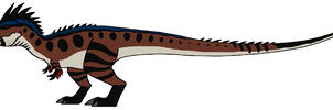 The Old T-Rex Redone by DinoWrassler620