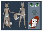Canine Anthro Adoptable - Open by Xevithro