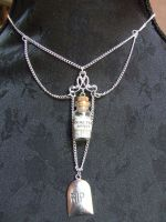 Cemetery Necklace by TheLovelyBoutique