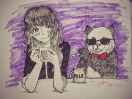 Date with Mr Panda by arahwoo