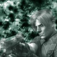 Leon from Resident Evil 4 by invisible--kid