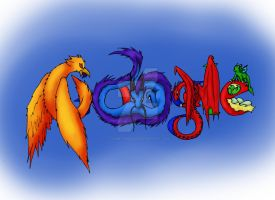 Doodle4Google - Dragons by Flame-Shadow