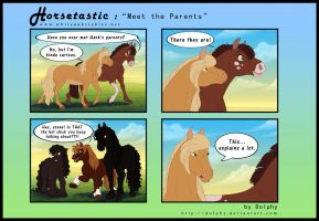 Horsetastic - Meet the Parents by DolphyDolphiana