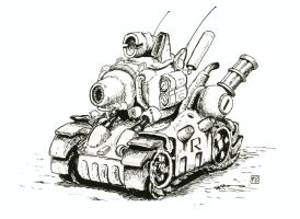 Metal Slug Tank by shaksa