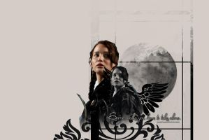 ::.Some walks you have to take alone.:: Mockingjay by me969