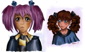 sad Tonks and random girl by Dobbylove