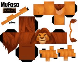 MUFASA CUBEECRAFT by vaniakorn5