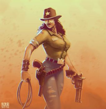 Cowgirl by Coinimus