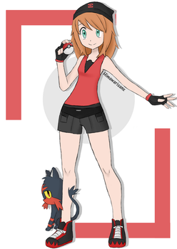 [PKMN] Trainer Molly by Himawarisanx