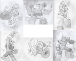 Robot Masters Practice by SonicKnight007