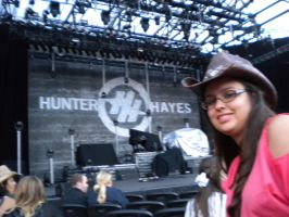 me at a country concert by Tinkerbell0522