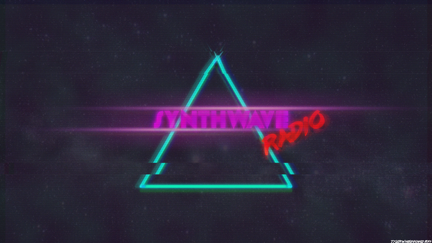 Synthwave Radio by SKILLEDGRAPHICS