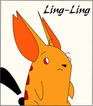 Ling-ling colored by Shadow86SK