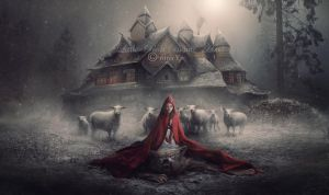 Little Red Riding Hood - A Winter Fairytale by nina-Y