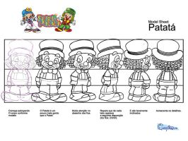 Model Sheet Patata by ajurkevicius