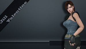 Jill Valentine wallpaper 1 by DragonLord720