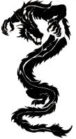 Dragon Tattoo by WolfBloodStudios