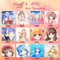 Art Summary 2012 by haneiy
