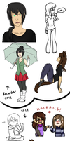 Art Dump January 2014 by oofuchibioo