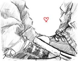 Converse Love by carnationcrab1