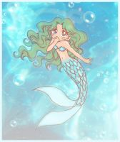 Michiru the little Mermaid by Rey-Rey