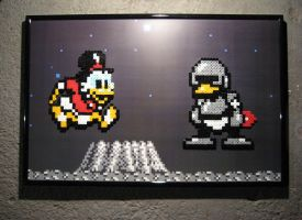 Perler Duck Tales (Moon Level) by Dlugo1975