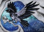 Second Crow by Sysirauta
