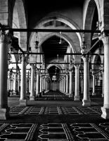 Deep inside the mosque. by MarwaMorgan