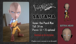 Chibi Papercraft - Saitama (One Punch Man!) by RavaMaster