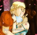 NaruTen - Sakura Blossoms Kiss by JuPMod