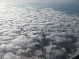 Plane clouds 05 by Party-Hat-Cat