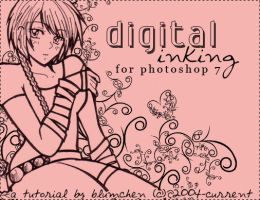 Digital Inking without Tablets by blumchen